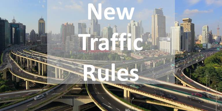 Shanghai: the new traffic regulation will take effect