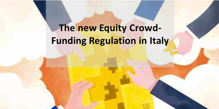 The new Equity Crowd-Funding Regulation in Italy