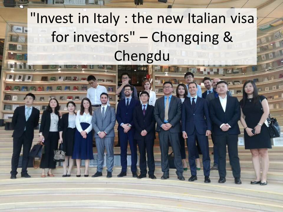 "Invest in Italy: the new Italian visa for investors"" – CQ&CD"