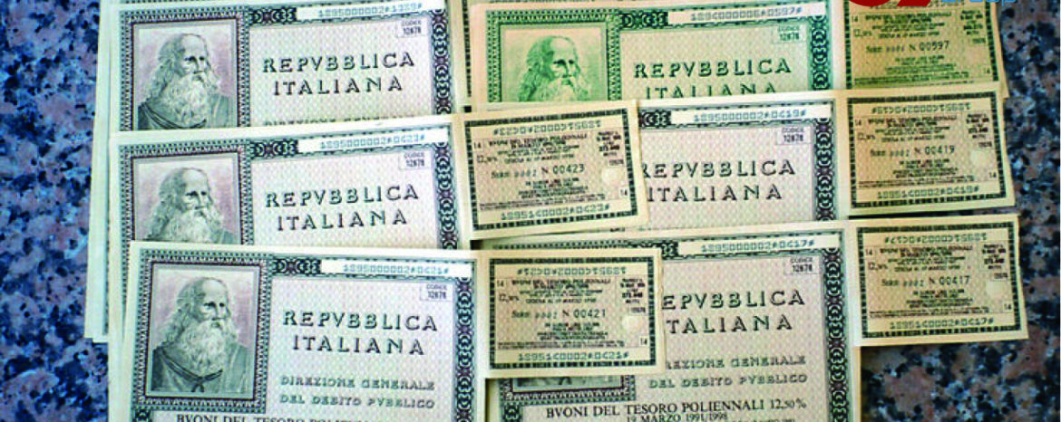 The forms of investment in Italian state bonds