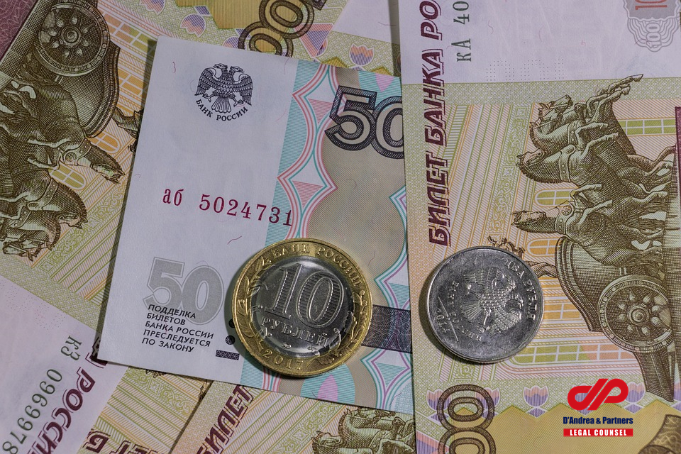 Ease of the currency regulation for foreign contracts using Rubles