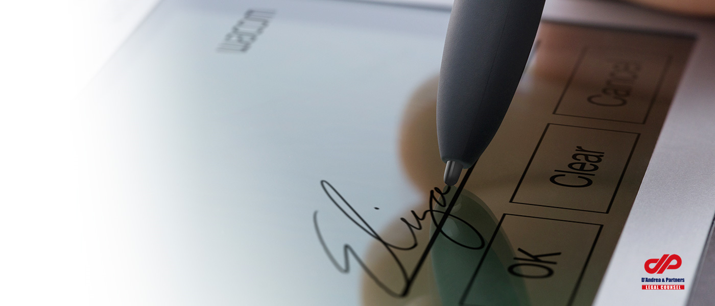 "Electronic Signature – A ""New"" Way of Doing Business"