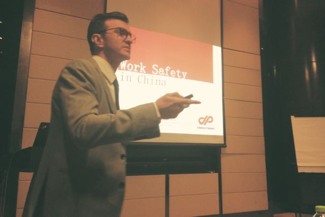 EUCCC NANJING EXECUTIVE BREAKFAST: WORK SAFETY IN CHINA IS NOT A DOUBT ANYMORE