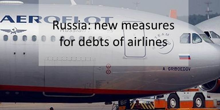 Russia: new measures for debts of airlines