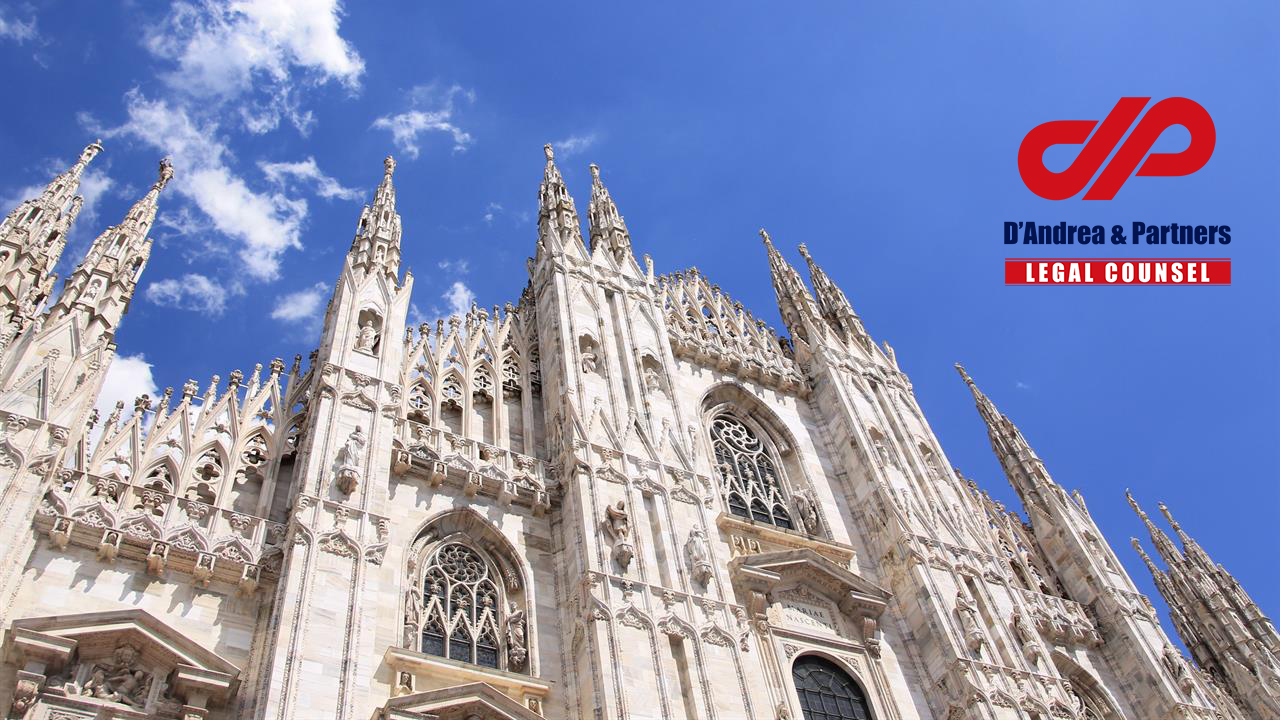 D'Andrea & Partners Legal Counsel opens a new office in Milan